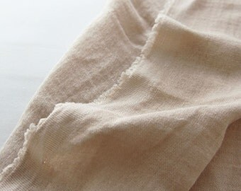 Double Gauze Fabric Beige By The Yard