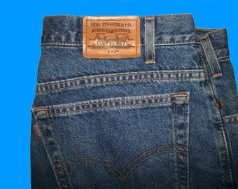 Levis 540 Relaxed 46 W x 30 L   Made in USA