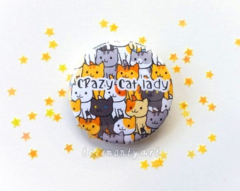 Badge - Crazy Cat Lady - Neko Atsume