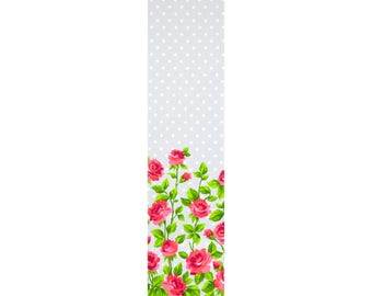 Gertie Cotton Sateen Border Roses 12391-LZ by Fabric Traditions Cotton Fabric Yardage