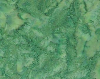 Hoffman Fabrics Watercolors Rainforest Green 1895-553-Rainforest Bali Batik Fabric