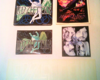 Led Zeppelin STICKERs DECALs