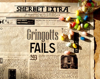 Magical Newspaper Poster - News from the Wizarding World