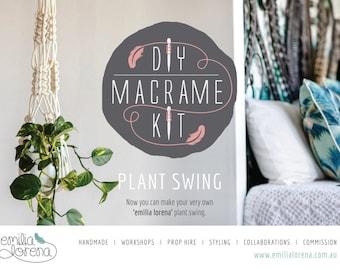 Macrame Plant Hanger DIY Kit | Macrame DIY Kit