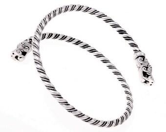 Viking upper arm bracelet - [07 OAR Got/N1 A-8]