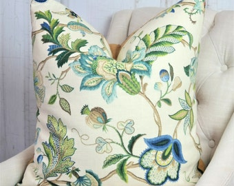 Designer Pillows, Green, Accent Throw Covers, 24x24, 22x22, 18x18, 16x16, 20x20, 26x26, Lumbar, Decorative Pillows, Pillow Covers
