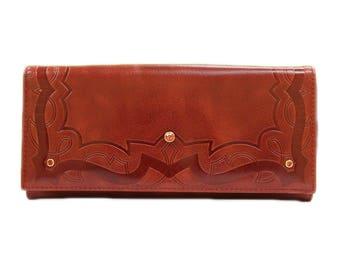butterfly wallet bifold wallet leather wallet girls wallet