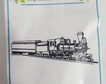 Class Act Inc. Long train stamp