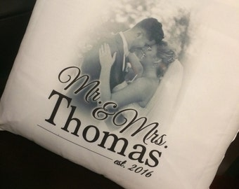 """16"""" Personalized Photo Pillows"""