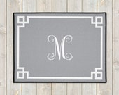 Custom Welcome Mat - Personalized Welcome Mat - Monogram Door Mat - Personalized Door Mat - Custom Doormat - Wedding Gift - Housewarming
