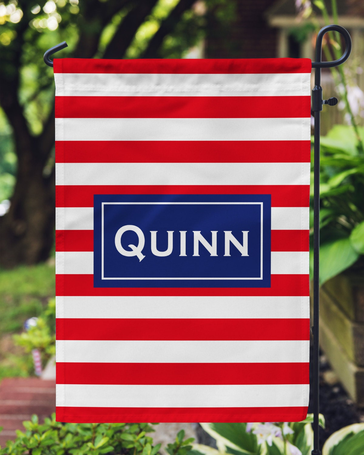 Personalized Garden Flag Personalized Yard Flag Garden