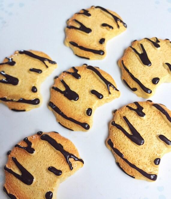 2 pcs.29x31mm.Miniature Cabochon Cookie,Miniature Cakes,Cabochons,Resin,Miniature Sweet,Miniature Cabochon,DIY,Mobile case