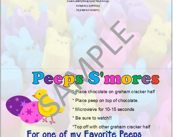 DIGITAL DOWNLOAD - Easter Peeps S'mores