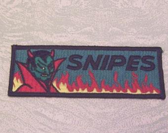 Snipes devil demon patch