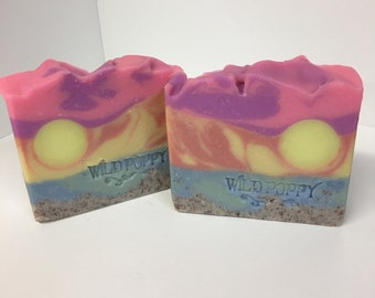 Island Escape Soap / Artisan Soap / Handmade Soap / Soap / Cold Process Soap