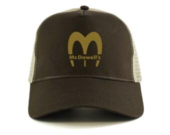 Coming To America: Mcdowells Logo Trucker Cap