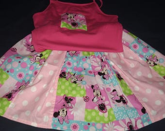 Minnie Mouse Twirl Skirt set Size 6
