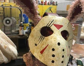 Gorey Bunny Voorhees Mask ( Jason Voorhees)