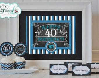 40th birthday favors Etsy
