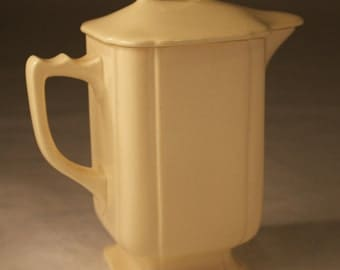 Vintage Pitcher with Lid