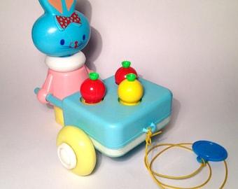 Vintage pull toy - EDUCALUX