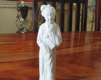 Beautiful Vintage Asian Woman Figurine