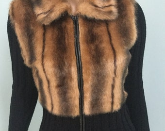Faux Fur Sweater,Size S-M,Charlotte Russe