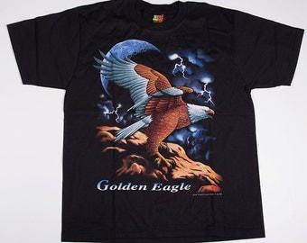 Vintage 90s Golden Eagle Tshirt