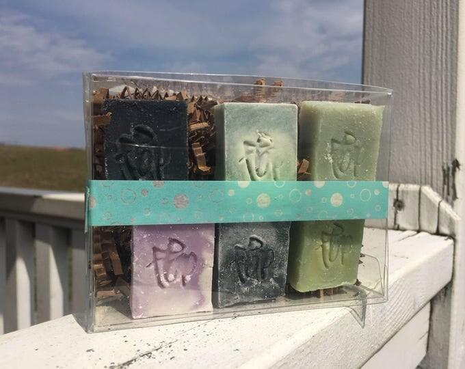 Soap Sampler - Essential Oil Soap, Essential Soap Sampler, Sample Size Soaps, Guest Size Soap, Soap Favors