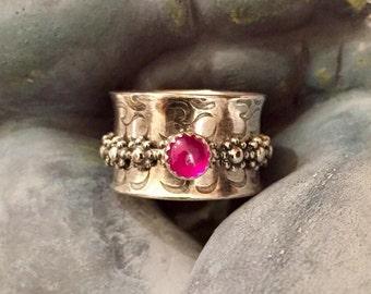 Ruby Meditation Ring