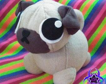 Pug plushie *updated*