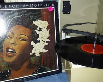 Billie Holiday story LP Story Vol III