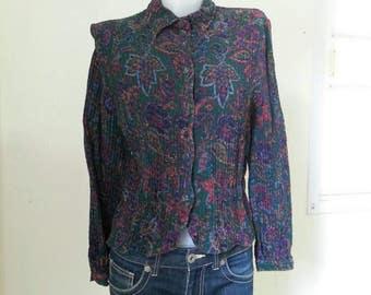 Vintage Valentino blouse Size 46/12