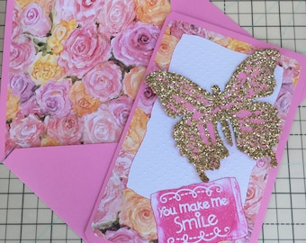 Pink Smile Card by MARC