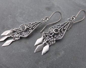 Boho chandelier earrings | Etsy