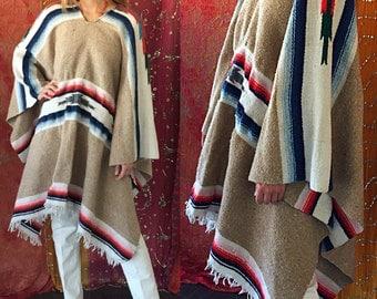 Chimayo Jacket Mexican Jacket Native American Jacket 70s Mexican Chimayo Blanket Jacket