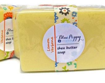 Lemon Verbena Soap, Shea Butter Soap Bar