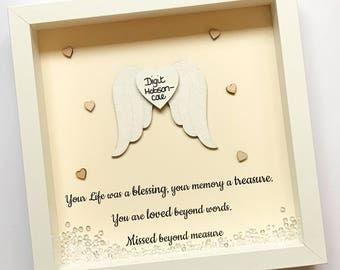 Angel Memorial Picture Personalised