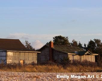 Beach Shacks/ Original Photography/ Landscape Photography/ Wall Art