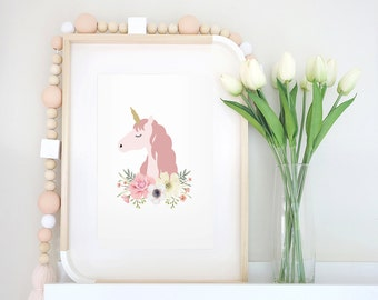 Unicorn Princess Print