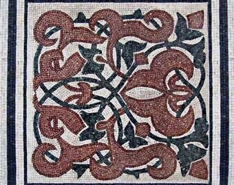 Geometric Mosaic Art Panel - Romeo