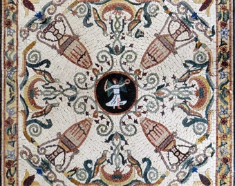 Mosaic Art - Stacks of Wheat