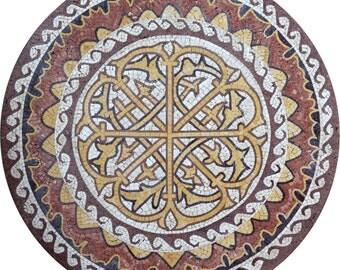 Mosaic Medallion - Symmetric