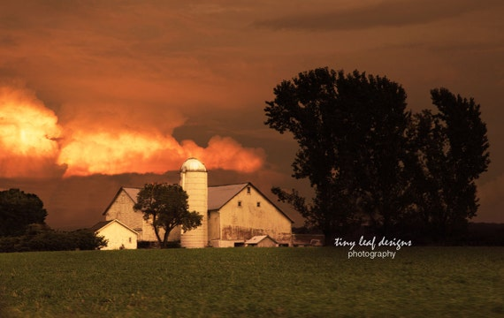 PA Farm after a Storm Original Photography