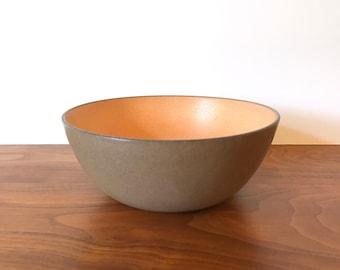 Vintage Heath Ceramics Vegetable Serving Bowl in Pumpkin Glaze