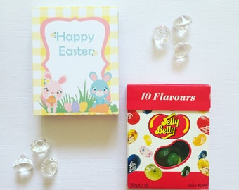 Easter bunnies jelly beans cover