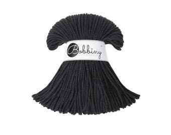 cordon en coton gris fer 3mm, corde de coton, cordon en macramé-108 yards (100 mètres)