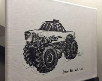 Monster Truck fine art print