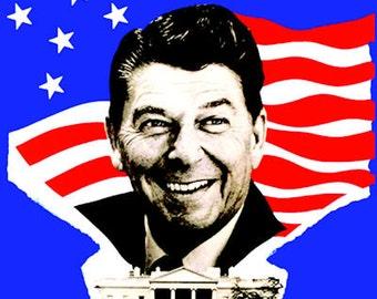 President Ronald Reagan Poster - FREE shipping