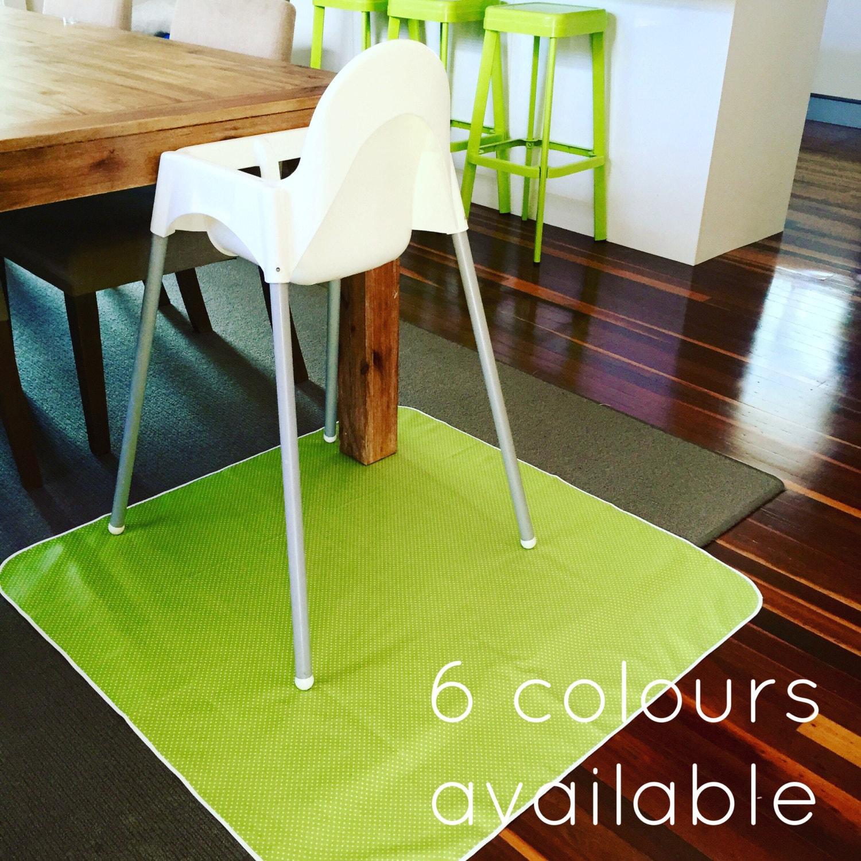 splat mat high chair mat art craft mat